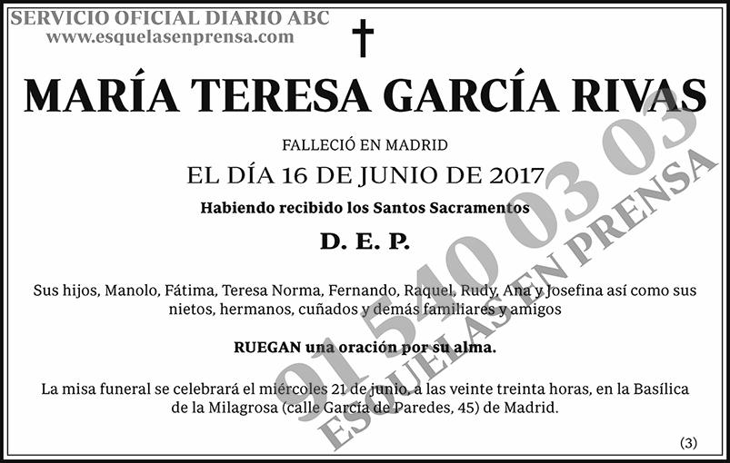 María Teresa García Rivas